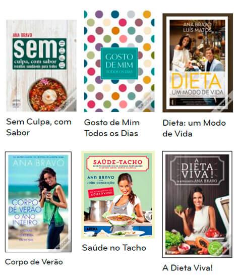 Livros Ana Bravo